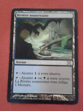 RIVIERE SOUTERRAINE UNDERGROUND RIVER X 10EME RARE CARTE MAGIC MTG VF