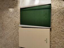 Rolex Notebook Ultra Rare Green
