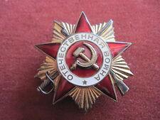 """Orden CCCP-Russland""""Orden des Vaterländischen Kriedes"""" Gold mit Nummer"""