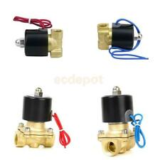 "1/2"" or 1/4"" Electric Solenoid Valve for Train Water Air Pipeline Fuel Gas PICK"