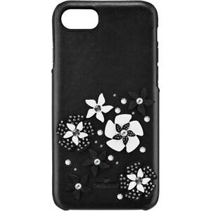 SWAROVSKI MAZY SMARTPHONE CASE W/ INTEGRATED BUMPER, IPHONE 6,7,8, BLACK 5427019
