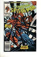 Amazing Spider-Man #317 VENOM COVER / STORY F/VF 7.0 1989 Marvel 300 252
