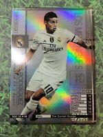Panini WCCF 15-16 James Rodriguez Refractor card Real Madrid SOC Spain