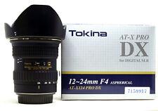 Tokina AT-X Pro 12-24 mm F/4.0 DX AF Objektiv Canon EF, TOP!