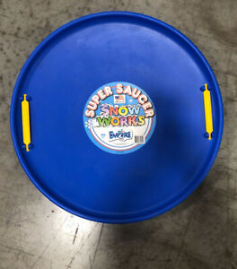 Super Saucer Sled Round Winter Toy By Empire Toys