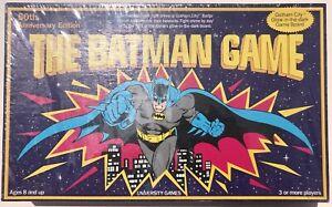 1989 The Batman Game 50th Anniversary Edition By University Games DC Comics