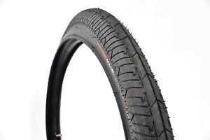 "KHE BMX Bike Tyre Standard Street-Park Mac2+, 20"" x 2.30"", Black-Black Sidewall"