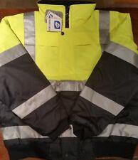 Hi-Vis Jacket Waterproof | Y/N | Worksense Pilot Rain Jacket | OW9686525 | New