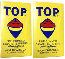 2 Pack Top 70 mm RYO Cigarette Tobacco Rolling Papers 200 Leaves 2127-2