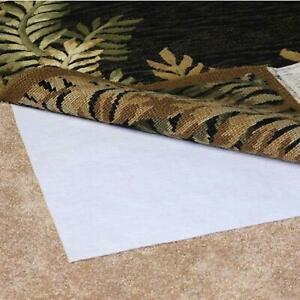Non Slip Pad for Rugs Over Carpet Spot Clean with Damp Sponge Air Dry 2 by 8 Ft