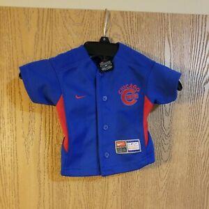 Sammy Sosa #21 Chicago Cubs Sewn Nike Jersey Baby Toddler 12 Months EUC