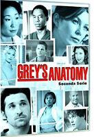 Grey's Anatomy - Serie TV - 2^ Stagione - Cofanetto Con 8 Dvd - Nuovo Sigillato