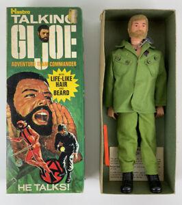 Vintage 1970 HASBRO GI JOE Adventure Team TALKING Commander Box 7400 Rare Blonde