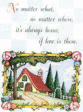 Always Home If Love There-Handcrafted Fridge Magnet-w/Mary Engelbreit art