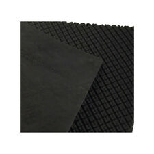 Genuine Grip Slip Resistant Soling Sheet, 12.5 in x 12.5 in, 4mm, Black
