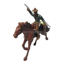 West-Cowboy Auf Dem Pferd Action Figur Aktion Figuren Spielzeug Haus Dekor