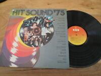 "HIT SOUND '75 16 HIT SONGS 12"" Vinyl Record LP CBS 81033"