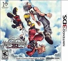 Kingdom Hearts 3D: Dream Drop Distance (Nintendo 3DS, 2012) New Free Ship USA