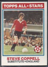 TOPPS-FOOTBALL (ORANGE BACK 1978)-#147- MANCHESTER UNITED - STEVE COPPELL