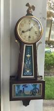 New Haven Winsome Banjo Clock with Westminster Chimes