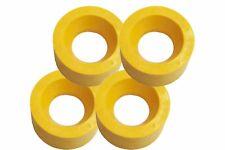 Power Feeder Rollers - Polyurethane 120x60mm - Set of 4 (RU120 For 1HP Motors)