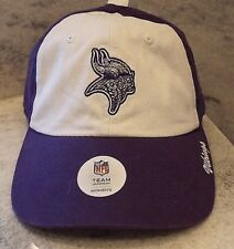 2ade1bcaaf0 Minnesota Vikings Women s Cap Official NFL Team Headware Adjustable Hat  Sequins