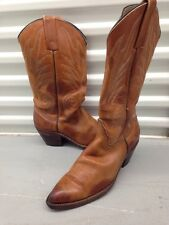 FRYE Women's Stitched Pull-On Western Boots Whiskey Sz 9.5