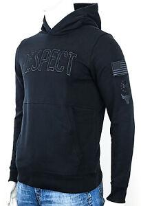 Under Armour UA Men's MED Project Rock Respect USDNA Hoodie Sweatshirt Black NEW