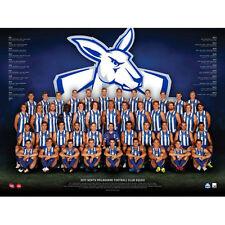AFL 2017 Team North Melbourne Kangeroos POSTER 60x80cm NEW Aussie Football