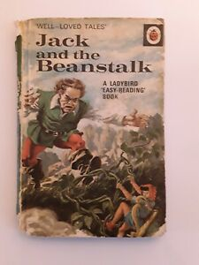 Vintage Ladybird Book – Jack and the Beanstalk - Well Loved Tales 606D 1st ed