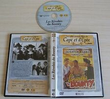 RARE DVD FILM CAPE ET D'EPEE LES REVOLTES DU BOUNTY N° 32 CLARK CABLE
