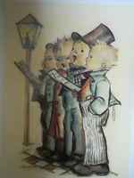 Vintage Hummel Goebel Collecters Club Poster