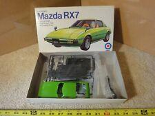 Rare! Vintage Entex Mazda RX-7 import, 1/25 scale model car kit. NOS/new!