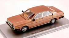Kess Model Ks43014010 Maserati Quattroporte 4.9 1983 Oro Longchamp 1 43 Die Cast