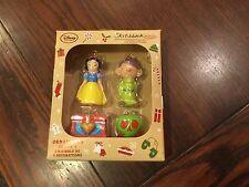 Disney Store  Snow White and the Seven Dwarfs Sketchbook Minis Ornament Set New