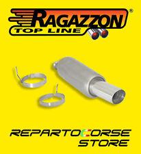 RAGAZZON TERMINALE SCARICO ROTONDO 90mm PEUGEOT 206 2.0 16V GTI 99kW 18.0062.60