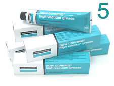 DOW CORNING Laboratory High Vacuum Grease 976V Stopcock *5-PACK of 150gm Tubes*