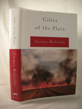 CITIES OF THE PLAINS Cormac McCarthy HC/DJ stated 1st VG Condition #3 Border Tri