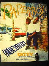 PAPERBOY Ditty - Gold in 12 Weeks 1993 PROMO POSTER AD
