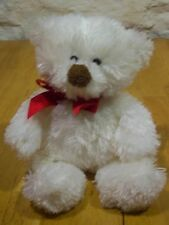 "Hallmark SOFT FUZZY BEAR 10"" Plush Stuffed Animal"