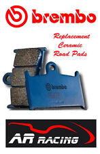 Brembo Replacement Front Brake Pads to fit Honda NX 650 V-2 Dominator 1997-2002