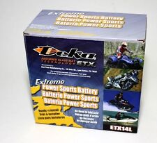 DEKA Genuine New ETX14L Harley Davidson BUELL Power Sport Battery, Fast Ship