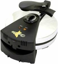 8 Inch Tortilla Flat Bread Maker Cool Touch Handle Chrome Housing 850 Watts New