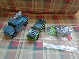 Mattel Fast & Furious Hobbs Navistar MXT & Letty's Dodge Lot
