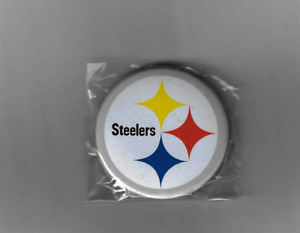 🔥HOT! PITTSBURGH  STEELERS ROUND PIN BACK 1 3/8 IN PACKAGE  FREE SHIPPING