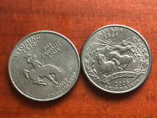2006-D Nevada OBW State Quarter Roll Heads//Tails
