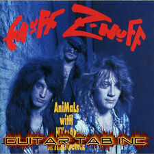 Enuff Z'nuff Guitar Tab ANIMALS WITH HUMAN INTELLIGENCE Lessons on Disc