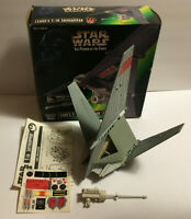 Vintage Star Wars Power of The Force Lukes T-16 Skyhopper Vehicle w/ Box Kenner