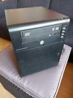 """HP Micro Server N40L - 8 GB RAM - DVD-RW - RAC - Komplett - 4x 3,5"""" - 25W TDP"""