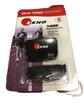 Ekho Three 5 Accelerometer/Pedometer Brand New Sealed in Factory Packaging!!